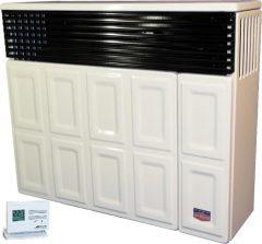 Lampart LB30p-1PRO parapetes gázkonvektor programozható termosztáttal parapet nélkül