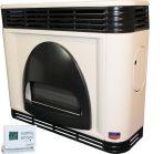 FÉG EXCLUSIVE 5.5i-1PRO parapetes látvány gázkonvektor programozható termosztáttal íves díszelemmel parapet nélkül