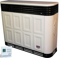 Lampart GLC30p-1PRO parapetes gázkonvektor programozható termosztáttal parapet nélkül