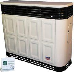 Lampart GLC50p-1PRO parapetes gázkonvektor programozható termosztáttal parapet nélkül